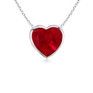 Heart-Ruby-Solitaire-Pendant