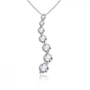 Round-Diamond-Curved-Journey-Pendant-in-14k-White-Gold