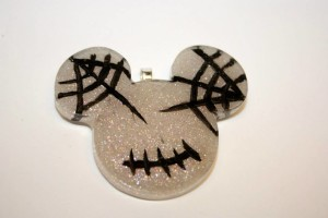 Mickey Mouse Halloween Pendant