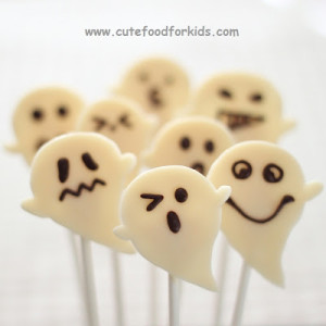 Chocolate Ghosts