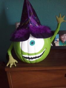 Alien Pumpkin