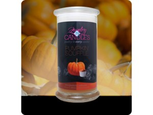 Jewelry In Candles Pumpkin Scented Candles