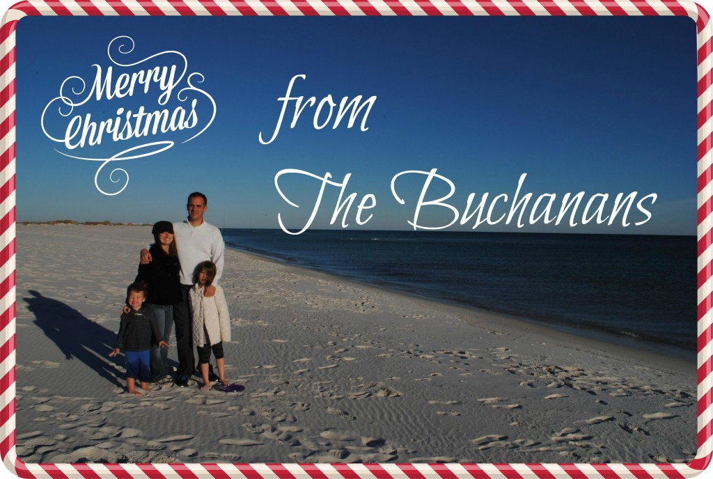 Merry Christmas from the Buchanans