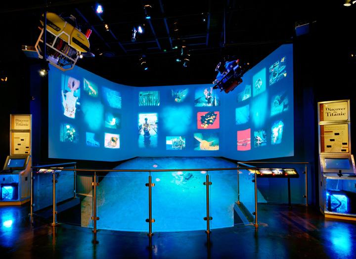 titanic discovery exhibit