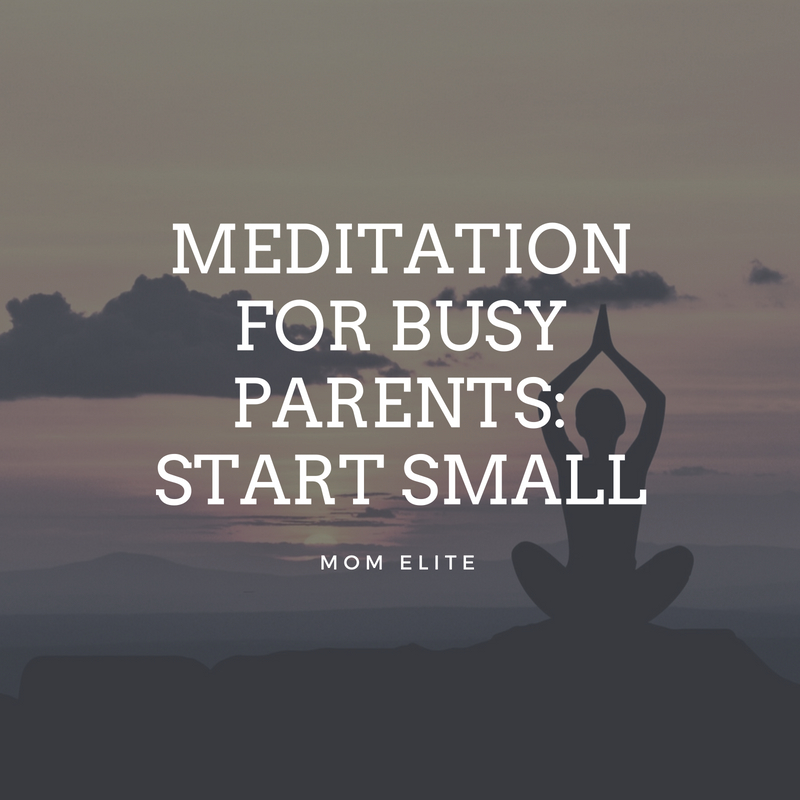 Meditation guide for busy parents