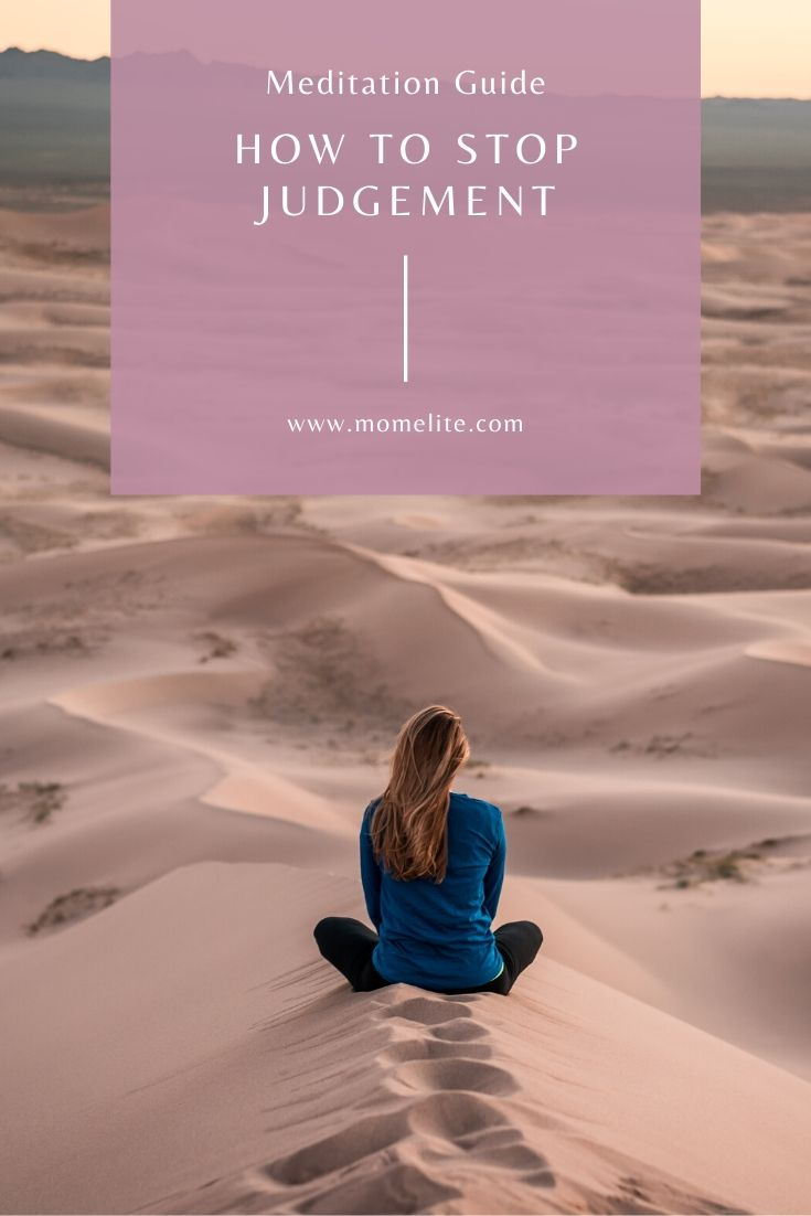 meditation guide stop judgement