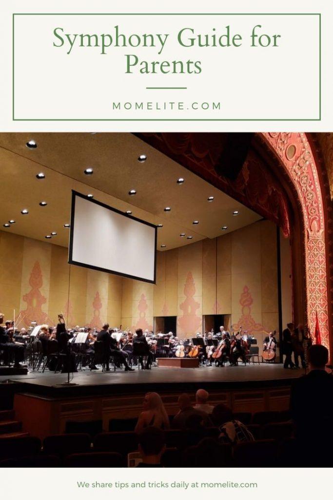 symphony guide for parents