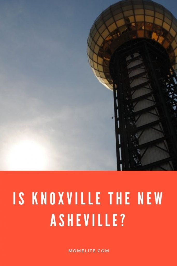 is knoxville the new asheville?