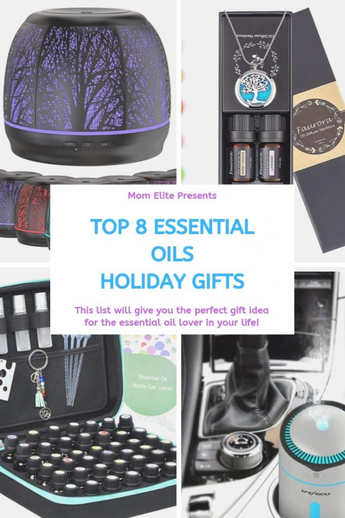 essential oils holiday gift guide