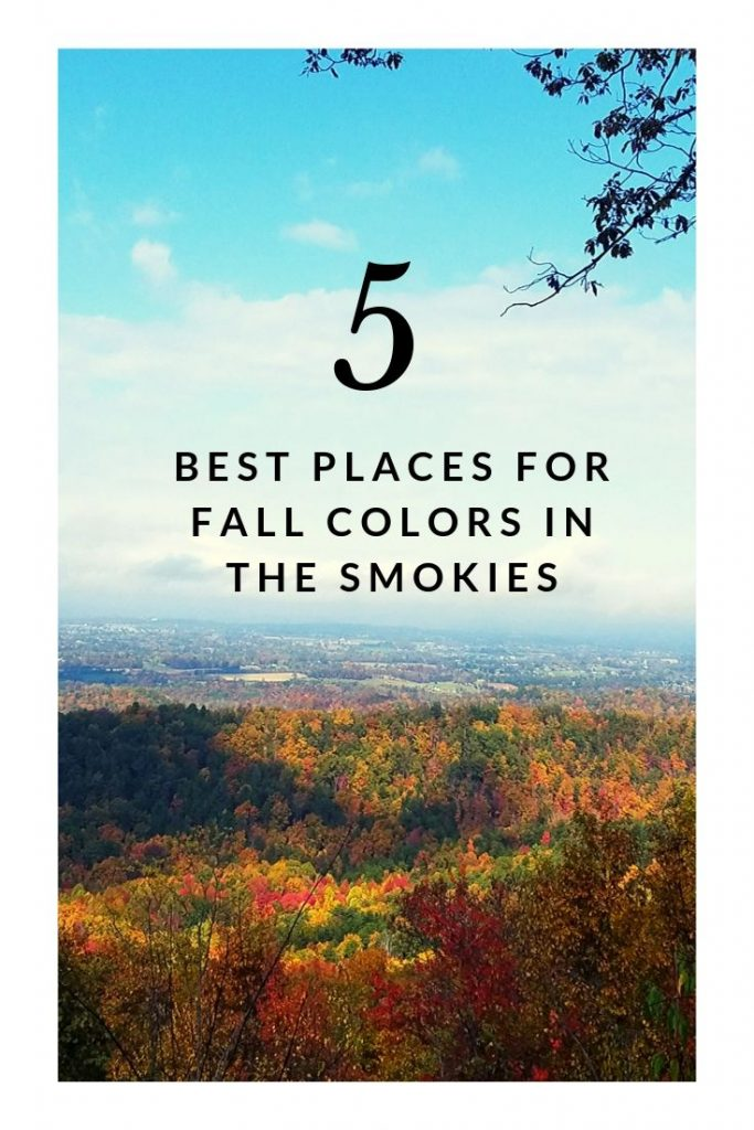 5 best places to see fall colors in the smokies