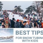 best tips for snow tubing with kids in the winter
